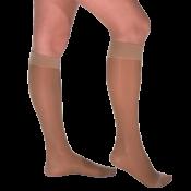 VENOSOFT Knee High Compression Stockings CLOSED TOE 20-30 mmHg