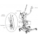 Invacare Reliant 350 Stand-Up Lift Rear Diagram