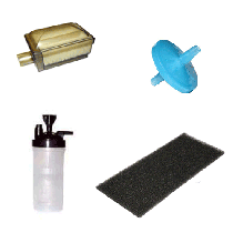 Nuvo 8 Oxygen Concentrator Filters, Replacement Parts,  Accessories