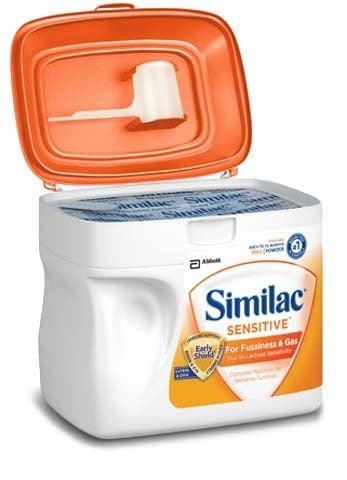 similac sensitive infant formula w iron 677