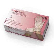 Mediguard Vinyl Exam Gloves Powder Free - NonSterile