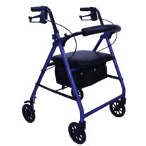 4 Wheel Walker Blue