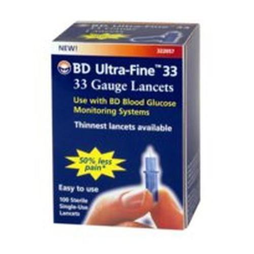 Ultra-Fine Lancet 33 Gauge
