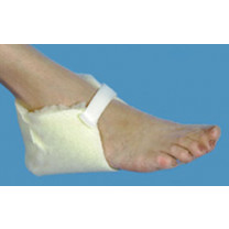 Essential Medical Sheepette Synthetic Lambskin Heel Protector