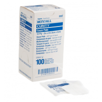 Covidien 3381 Curity 2 x 2 Inch Gauze Pad 12 Ply