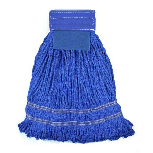 Microworks Microfiber String Mop With Scrubber Pad