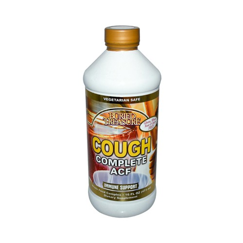 Buried Treasure Cough Relief Complete ACF Dietary Supplement