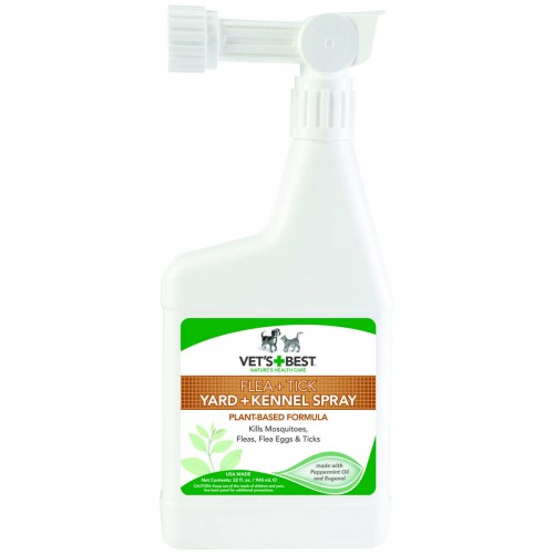 Pet Flea and Tick Yard and Kennel Spray