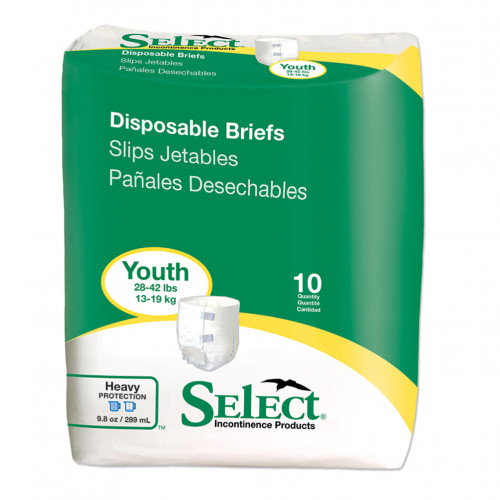 Tranquility Select Youth Disposable Briefs