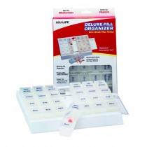 1 Week Deluxe Pill Box Medication Organizer