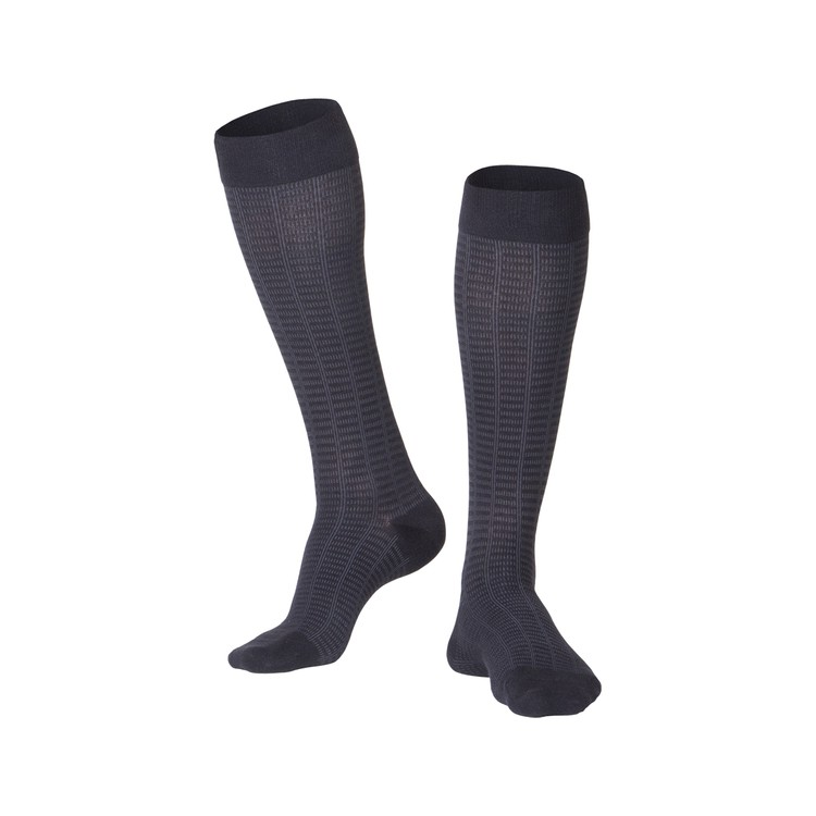 mens fine checkered compression socks 15 20 mmhg  2f6