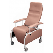 Lumex Preferred Care Drop-Arm Geri Chair Recliners - Infinite Position Recliner