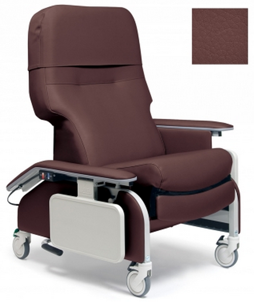 lumex deluxe clinical care recliner by graham field  6ef