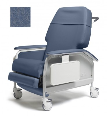 lumex extra wide clinical care geri chair recliner 992