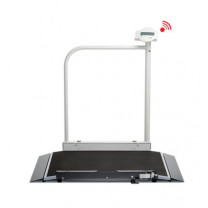 Seca Wheelchair Scale with Foldable Handrail 676