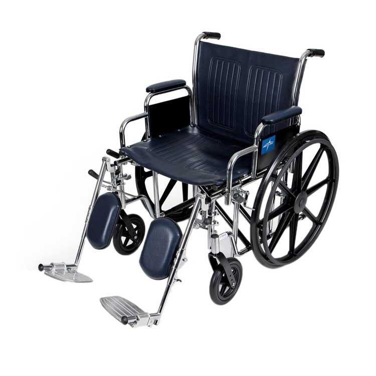 medline extra wide wheelchair e3f