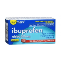 Sunmark Ibuprofen Pain Reliever Tablets