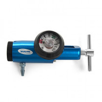 Oxygen Regulator - Piston Type with Guage, 0 to 8 LPM