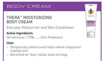 Thera Skin Conditioner Moisturizing Body Cream Thera