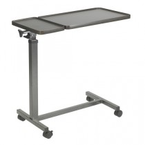 Drive Medical OverBed Table with Double Tilt Tops 10368BV
