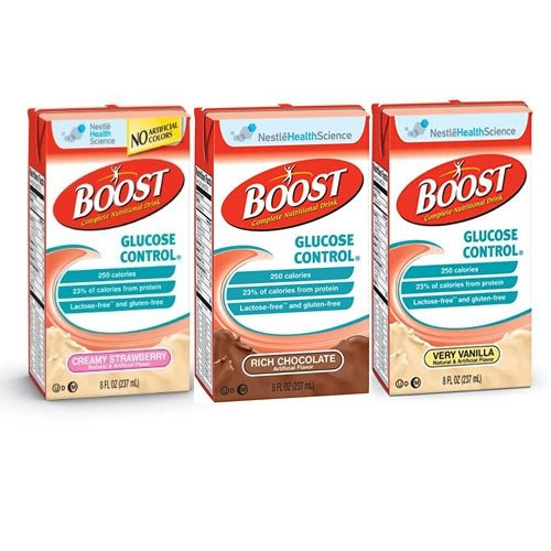 Boost Glucose Control All Flavors