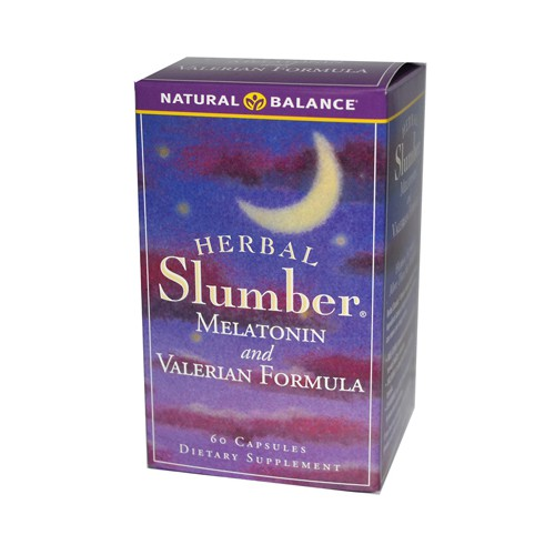 Herbal Slumber Melatonin and Valerian Formula