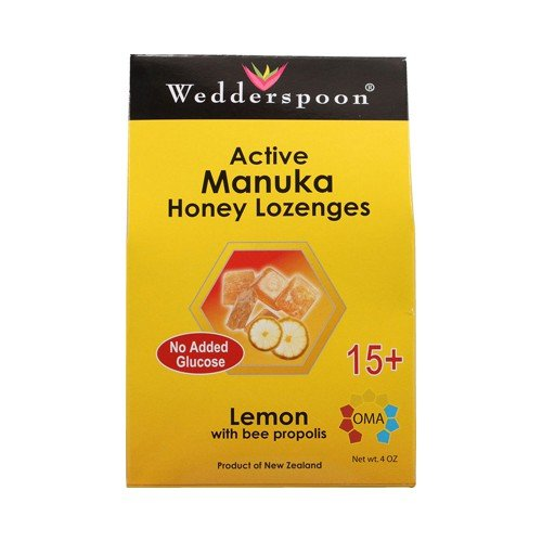 Wedderspoon Active Manuka Honey Lozenges