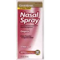 Nasal Spray Oxymetazoline