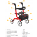 Nitro Rollator Features