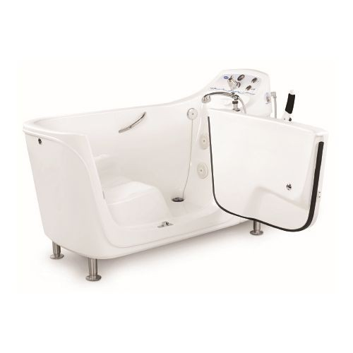 TheraPure Free-Standing Side Entry Whirlpool Bathing Tub