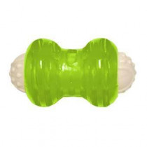 Hyper Squawker Bone Dog Toy