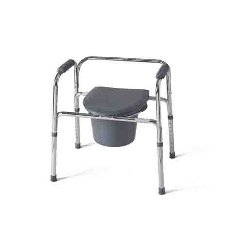 Guardian 3-In-1 Steel Commode