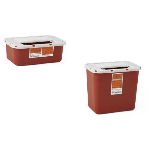 1 Gallon and 2 Gallon Medical Waste Continers
