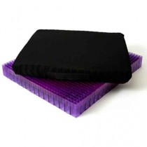 Double Purple Seat Cushion