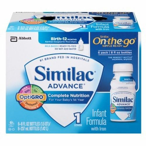 Similac Advance with Iron Infant Formula Ready to Feed Ready to Feed - 8 oz