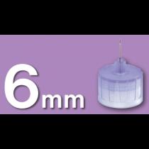 6 mm 31 Gauge Unifine Pentip Pen Needles