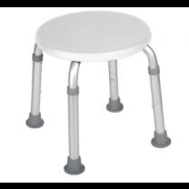 White Round Seat
