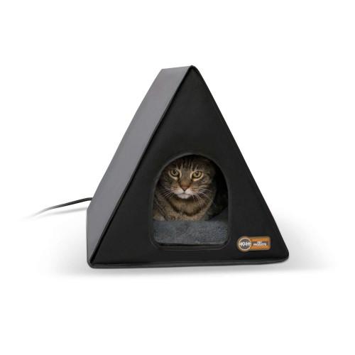 Heated A-Frame Cat House