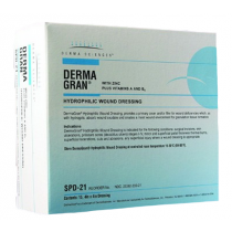 DermaGran Hydophilic Wound Dressing with Zinc