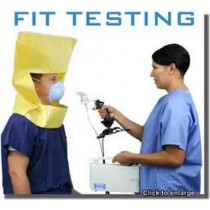 Surgical Mask Fit Testing Hood