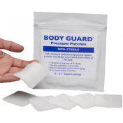BODY GUARD Plastisol Gel 2.4 x 2.4 x 1/8 in. Pressure Patches - 1603011
