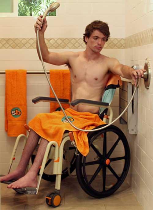 Roll In Buddy Solo Sb6w Showerbuddy