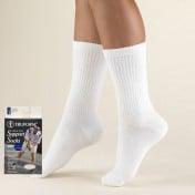 Men's Crew Length Athletic Cushion Sock 15-20 mmHg