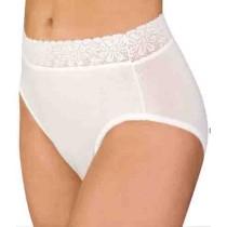 Women's Lace Trim Incontinence Panties