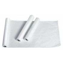 MedLine 18 Inch x 200 Foot Standard Smooth Exam Table Paper Roll - NON18200