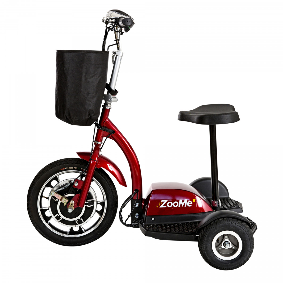zoome 3 wheel recreational scooter bb5