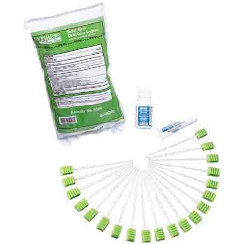 Toothette Short Term Swab System with Perox-A-Mint Solution