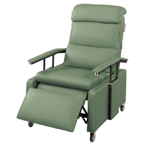 Lumex FR3302 Three-Position Recliners with Drop-Arm and Pillow Back Jade