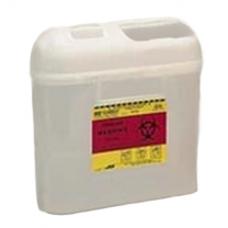 5.4 Quart Pearl BD Sharps Container Side Entry 305425