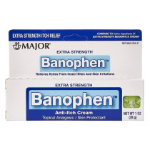 Banophen Itch Relief Cream